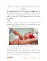 """Tự massage 4 vị trí này trên cơ thể sẽ giúp chị em """"trẻ mãi không già"""""""