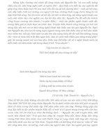 Mở bài và kết bài cho đề cảm nhận về đoạn trích Trao Duyên Nguyễn Du