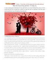 Mẫu bài luận tiếng anh hay về tình yêu