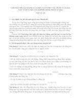 chuyen de 1 CHUYÊN ĐỀ:CÂN BẰNG CỦA MỘT VẬT CHỊU TÁC DỤNG CỦA HAI LỰC VÀ CỦA BA LỰC KHÔNG SONG SONG (2 Tiết)