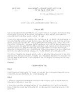 ND 972016 HD chi tiết thi hành luật thống kê ngày 01072016