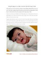 Bí quyết giúp trẻ sơ sinh có mái tóc đen dài trong 1 tuần