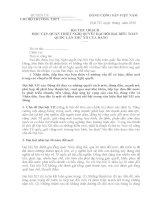 bai thu hoach nghi quyet DH 12  giao vien THPT