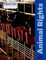 Animal rights    gail mack (2011) TỪ VỰNG HAY THEO CHỦ ĐỀ
