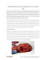 Những dấu hiệu cảnh báo trẻ sắp bị bệnh mẹ nào cũng phải biết
