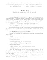 Hướng dẫn thể lệ văn bản của Đoàn TNCS Hồ Chí Minh