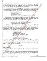 Bộ đề thi môn văn phương pháp tự luận phần42