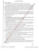 Bộ đề thi môn văn phương pháp tự luận phần 7