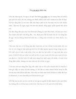 Bài văn Tả con mèo nhà em
