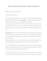 Viết thư cho người thân để hỏi thăm và chúc mừng năm mới