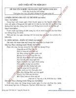 Bộ đề thi môn văn phương pháp tự luận phần 8