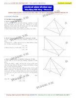 Kĩ năng hình học cơ bản 12
