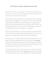 Viết một bài văn ngắn về người thân yêu của mình