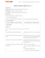 Giáo án Khoa học 5 bài 15
