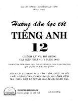 HƯỚNG DẪN HỌC TỐT TIẾNG ANH 12 (MAI LAN HƯƠNG)