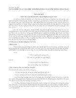 SỨC SỐNG của văn học dân GIAN TRONG CUỘC SỐNG hôm NAY
