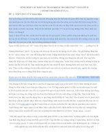 TỔNG hợp các bài văn THAM KHẢO THI HKII NGỮ văn lớp 11(CHUẨN)
