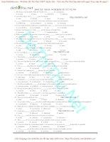250 câu trắc nghiệm từ vựng Tiếng Anh có đáp án dành cho thi THPT và Đại học