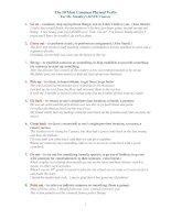 50 cụm động từ thông dụng trong Tiếng Anh