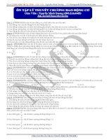 Tổng ôn lý thuyết các chương vật lý 12 9có đáp án)