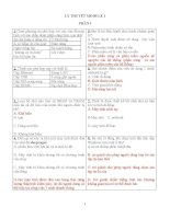 Bộ câu hỏi thi IC3 Module a