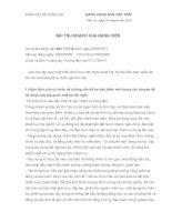 Bài thu hoạch học tập nghị quyết XII tham khảo