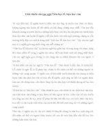 Giải thích câu tục ngữ Tiên học lễ Hậu học văn