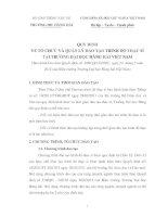 QUY ĐỊNH VỀ TỔ CHỨC VÀ QUẢN LÝ ĐÀO TẠO TRÌNH ĐỘ THẠC SĨ TẠI TRƯỜNG ĐẠI HỌC HÀNG HẢI VIỆT NAM