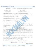 Đề thi thử thptqg 2016 môn toán hocmai đề số 3