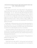 Chuyên đề Phương pháp dạy học phần âm môn Tiếng Việt lớp 1 Công nghệ giáo dục