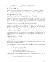 Bài giảng môn quản trị tài chính