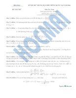 Đề thi thử thptqg 2016 môn toán hocmai đề số 2