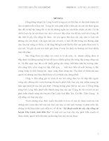 """Báo cáo """"kỹ thuật canh tác cây sầu riêng tại huyện chợ lách, tỉnh bến tre"""