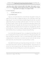 skkn HƯỚNG dẫn THỰC HÀNH môn TIN học PHÙ hợp NĂNG lực của mỗi học SINH NHẰM NÂNG CAO kết QUẢ học tập môn TIN học của học SINH