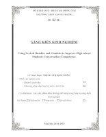 skkn tiếng anh 11 using lexical bundles and gambits to improve high school