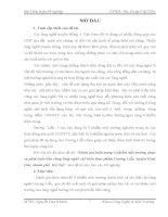 ĐÁNH GIÁ TÌNH TRẠNG Ô NHIỄM Ở LÀNG NGHỀ