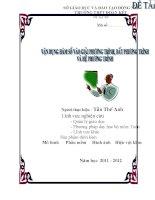 skkn vận DỤNG hàm số vào VIỆC GIẢI PHƯƠNG TRÌNH, bất PHƯƠNG TRÌNH và hệ PHƯƠNG TRÌNH