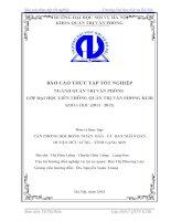 Báo cáo thực tập tốt nghiệp quản trị văn phòng tại UBND huyện hữu lũng lạng sơn