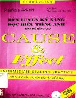 Rèn luyện kỹ năng đọc hiểu tiếng anh trình độ nâng cao