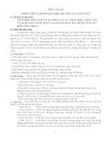Bài dự thi tích hợp liên môn hóa 9