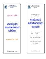Phân tích sự khác biệt của một số khoản mục trong hệ thống chuẩn mực kế toán Việt Nam so với hệ thống chuẩn mực kế toán quốc tế có ảnh hưởng đến quyết định của nhà đầu tư