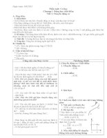 Giáo án vật lí 10 soạn theo hướng phát huy năng lực học sinh