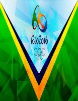 tiếp sức vận động viên——2016 olimpic rio brazin mẫu ptt