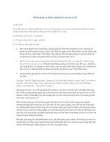 Kế hoạch PR cho website