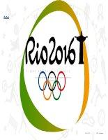 MẪU TEMPLATE đầy màu sắc OLIMPIC RIO 2016