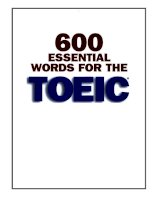 TOEIC 600 WORDS tham khao