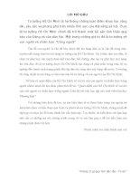 Quan điểm của Hồ Chí Minh về vai trò của con người và chiến lược trồng người. Liên hệ với việc học tập của sinh viên Đại học Thương Mại