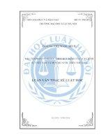 Các tội phạm tình dục theo quy định của luật hình sự việt nam và một số nước trên thế giới