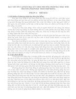 skkn dạy TIẾT ôn tập kì II địa lí 9 THEO PHƯƠNG PHÁP dạy học mới PHƯƠNG PHÁP học THEO hợp ĐỒNG
