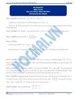 Đề thi toán THPT Quốc gia  Lê Bá Trần Phương